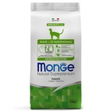 Monge Cat Adult Rabbit Monoprotein корм для взрослых кошек с кроликом