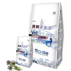 Monge Cat GRAIN FREE VETSOLUTION HEPATIC FELINE диета при заболеваниях печени, 400 гр.