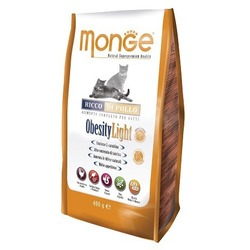 Monge Cat Obesity light корм для кошек низкокалорийный 400 гр.