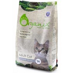 Organix Adult Cat Lamb корм для взрослых кошек с ягненком
