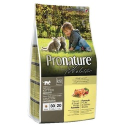 Pronature holistic корм для котят, курица с картофелем.