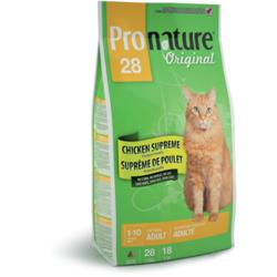 Pronature 28 для взрослых кошек с цыпленком Original