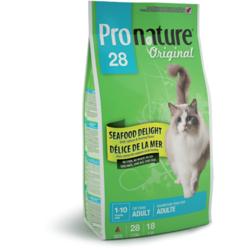 Pronature 28 для взрослых кошек с цыпленком и морепродуктами Original