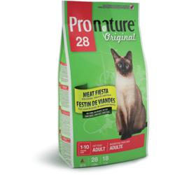 Pronature 28 для взрослых кошек с цыпленком, лососем и ягненком Original