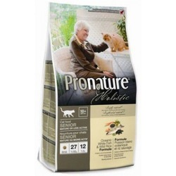 Pronature holistic для пожилых или малоактивных кошек, океаническая рыба и канадский рис, 2.72 кг