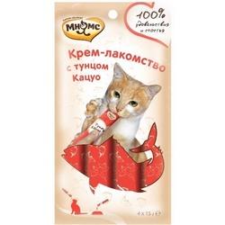 Мнямс Крем-лакомство для кошек с тунцом Кацуо