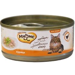 Мнямс консервы для кошек Курица в нежном желе , 70 гр.
