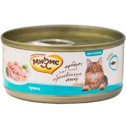 Мнямс консервы для кошек Тунец в нежном желе , 70 гр.