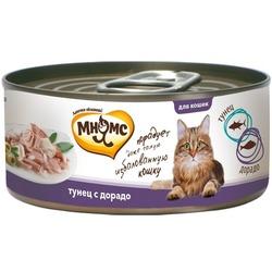 Мнямс консервы для кошек Тунец с дорадо в нежном желе , 70 гр.