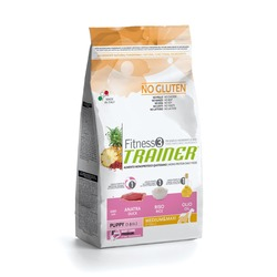 Trainer Fitness3 No Gluten Medium/Maxi Puppy Duck and Rice