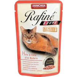 Animonda коктейль с курицей, уткой и пастой Rafin? Soup? Adult, 100 гр. х 24 шт.