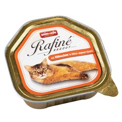 Animonda рагу из мяса курицы в йогуртовом соусе Rafin? Ragout, 100 гр. х 32 шт.