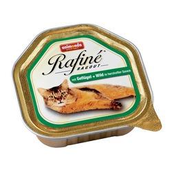 Animonda рагу из мяса домашней птицы, дичи в соусе и сердца Rafin? Ragout, 100 гр. х 32 шт.