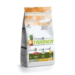 Trainer Fitness3 No Gluten Medium/Maxi Adult Duck and Rice