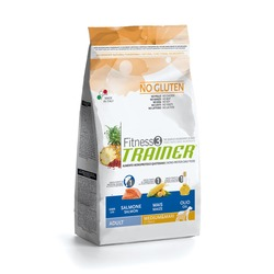 Trainer Fitness3 No Gluten Medium/Maxi Adult Salmon and Maize