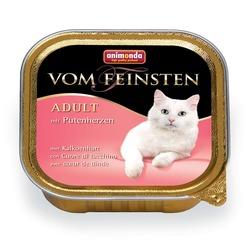 Animonda с сердцем индейки Vom Feinsten Adult для взрослых кошек, 100 гр. х 32 шт.