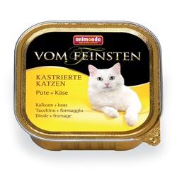 Animonda с индейкой и сыром Vom Feinsten Adult для кастрированных кошек, 100 гр. х 32 шт.