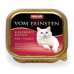 Animonda с индейкой и томатами Vom Feinsten Adult для кастрированных кошек, 100 гр. х 32 шт.