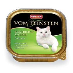 Animonda с отборной индейкой Vom Feinsten Adult для кастрированных кошек, 100 гр. х 32 шт.