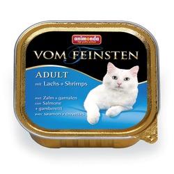 Animonda с лососем и креветками Vom Feinsten Adult для взрослых кошек, 100 гр. х 32 шт.
