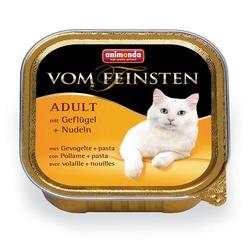 Animonda с мясом домашней птицы и пастой Vom Feinsten Adult для взрослых кошек, 150 гр. х 22 шт.