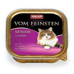 Animonda с ягненком для кошек старше 7 лет Vom Feinsten Senior, 100 гр. х 32 шт.