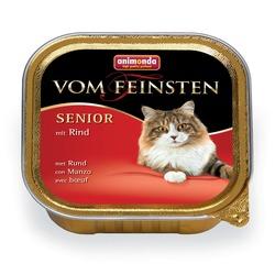 Animonda с говядиной для кошек старше 7 лет Vom Feinsten Senior, 100 гр. х 32 шт.