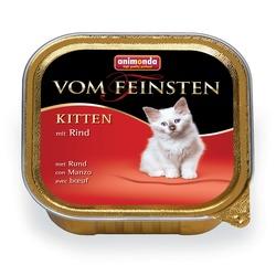Animonda с говядиной Vom Feinsten Kitten для котят, 100 гр. х 32 шт.