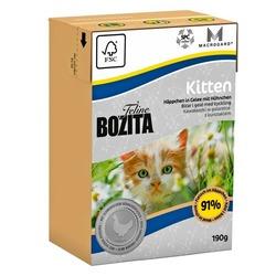 Bozita Kitten кусочки в желе для Котят с курицей, 190 гр.