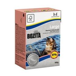 Bozita Feline Funktion Large кусочки в желе с лососем для кошек крупных пород, 190 гр.