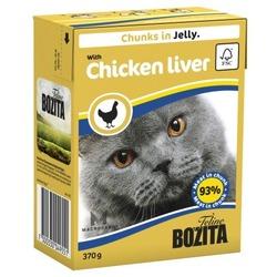 Bozita кусочки куриной печени в желе, 370 гр.