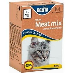 Bozita кусочки в желе мясной коктейль, 190 гр.