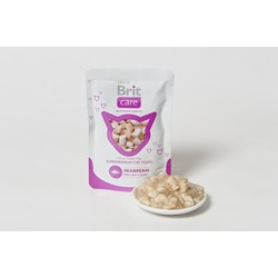 Brit Care морской лещ, консервы для кошек Pouches Seabream 80 гр. х 24 шт.