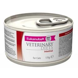 Eukanuba Intestinal для кошек при кишечных расстройствах, 170 гр. х 12 шт.