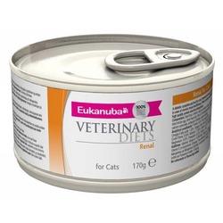 Eukanuba Renal для кошек при заболеваниях почек, 170 гр. х 12 шт.