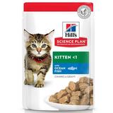 Hill`s консервы для котят с океанической рыбой, мягкая упаковка, Science Plan Kitten with Ocean Fish, 85 гр. х 12 шт.