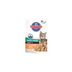 Hill`s для кошек идеальный вес Курица, 85 гр. х 12 шт.