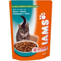 Iams® Adult с тунцом в желе, 22 шт. х 100 гр.