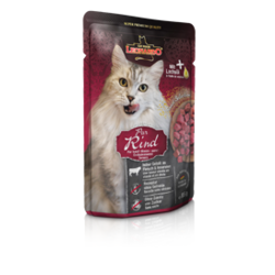 Leonardo cat food Pure Beef паучи для кошек с говядиной 85 гр. х 16 шт.