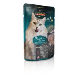 Leonardo cat food Fish & Shrimp паучи для кошек с рыбой и креветками 85 гр. х 16 шт.