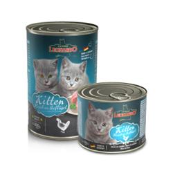 Leonardo cat food Kitten консервы для котят, 400 гр.