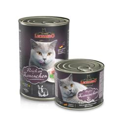 Leonardo cat food Rich in rabbit консервы для кошек с кроликом