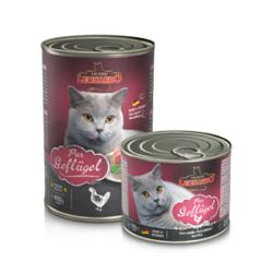 Leonardo cat food Pure Poultry консервы для кошек с мясом птицы