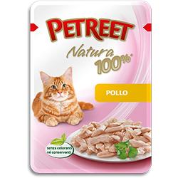Petreet пауч для кошек Курица, 70 г