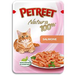 Petreet пауч для кошек Лосось, 85 г