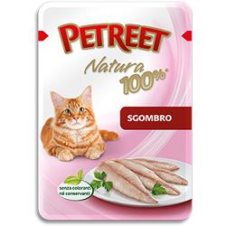 Petreet пауч для кошек Макрель, 85 г