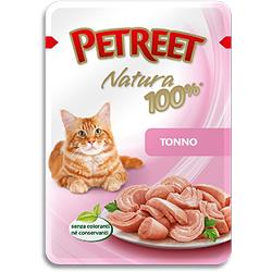 Petreet пауч для кошек Тунец, 70 г