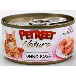 Petreet кусочки розового тунца, консервы для кошек, 70 гр.