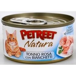 Petreet кусочки розового тунца с анчоусами, консервы для кошек, 70 гр.