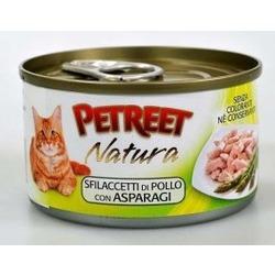 Petreet куриная грудка со спаржей, консервы для кошек, 70 гр.